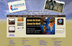 Custom Web Design Portfolio - Heritage United Methodist Church