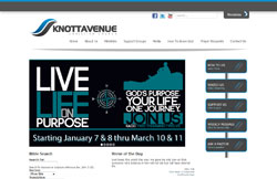 Custom Web Design Portfolio - Knott Avenue Christian Church