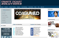 Custom Web Design Portfolio - Trinity Ticket Solutions