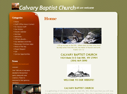 Calvary Baptist, Oak Hill, WV