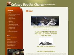 Calvary Baptist, Oak Hill, WV