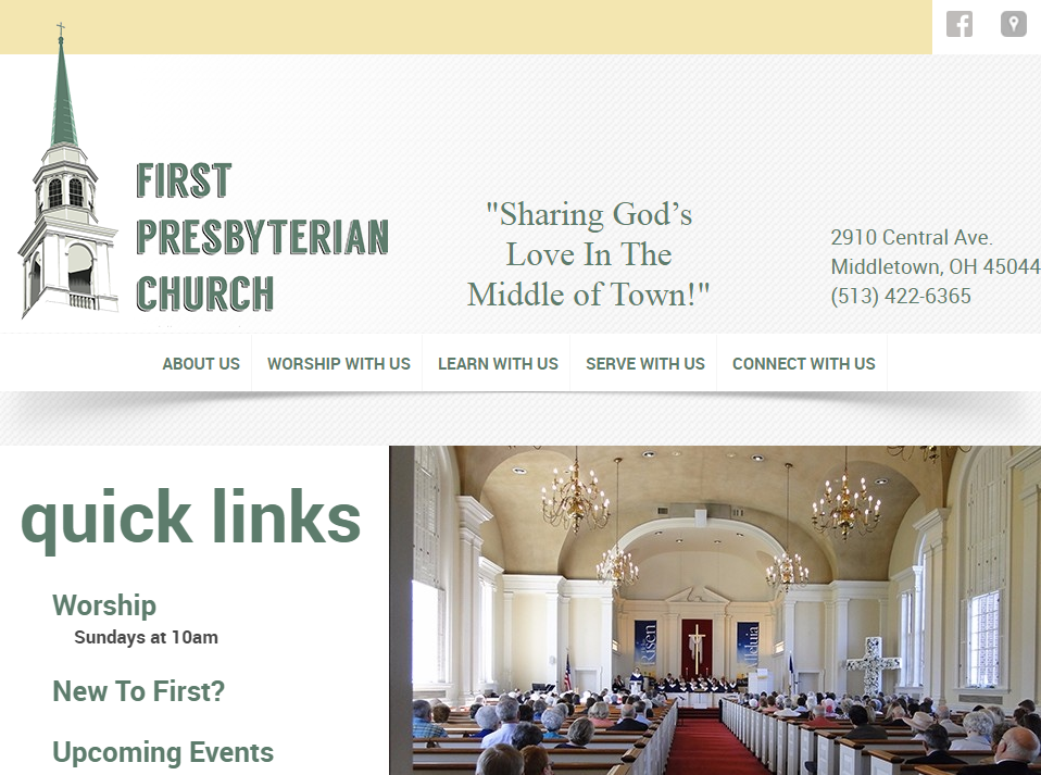 First Presbyterian Church in Middletown, OH