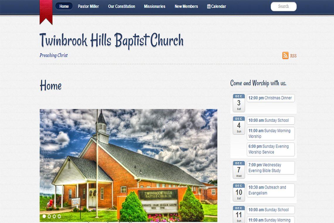 Twinbrook Hills Baptist Church in Hamilton, OH