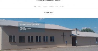 New Convenant Baptist Church in Grand Junction, CO