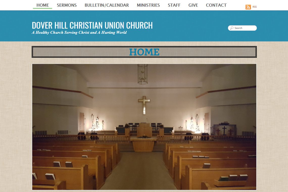 Dover Hill Christian Union Church , Shoals, In