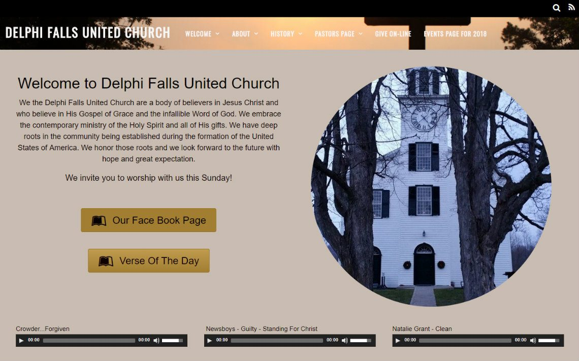 Delphi Falls United Church, Manlius, NY