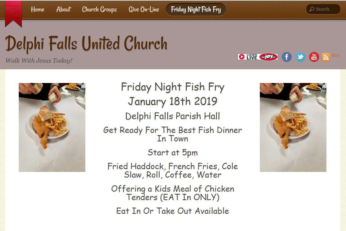 Congrats Delphi Falls United Church, Manlius, NY – Best Church