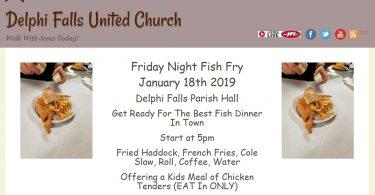 Delphi Falls United Church, Manlius, NY
