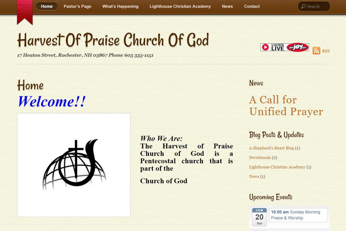 Harvest of Praise Church of God, Rochester, NH