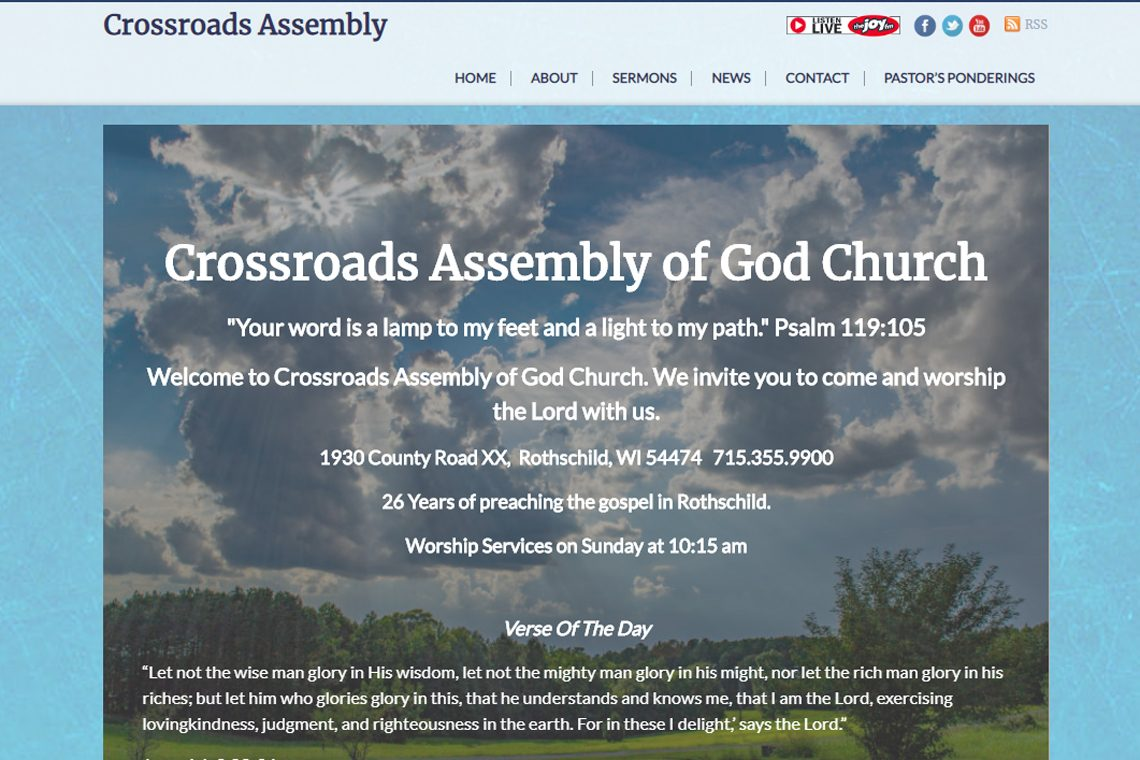 Crossroads-Assembly-of-God-Church-in-Rothschild,-WI