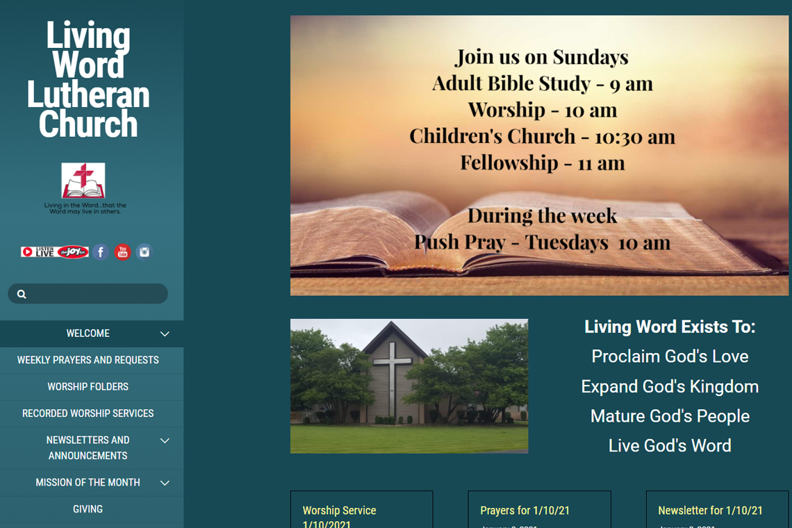 Living-Word-Lutheran-Church-in-Orland-Park-IL