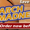 March Madness! 2 Days Only! Save 25% on Advertising!