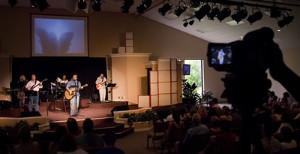 church website video