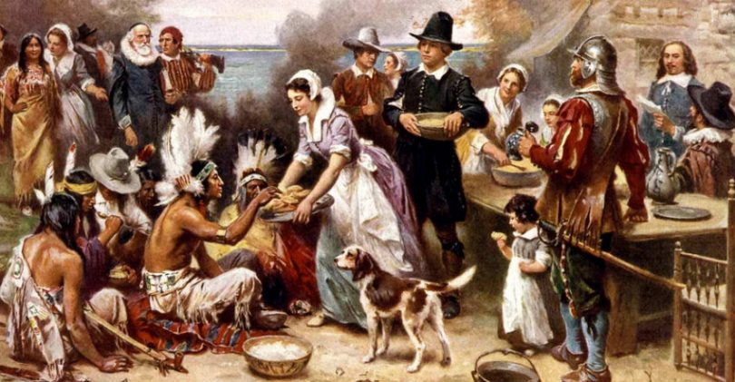 true story of the first Thanksgiving