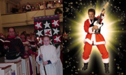 Christmas eve services - traditional and contemporary