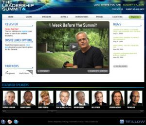 Leadership Summit Sreenshot