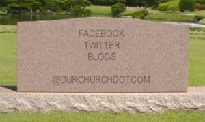 social networking tombstone
