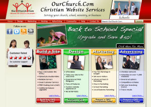 New OurChurch.Com Homepage