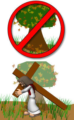 Arbor Day - Cross Day