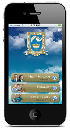 kings college iphone app