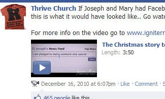 thrive church facebook page