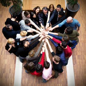 church people working together