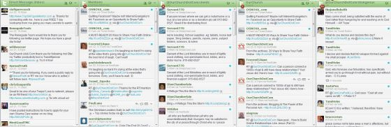 hootsuite twitter lists