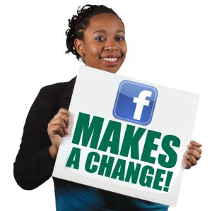 Facebook makes a change