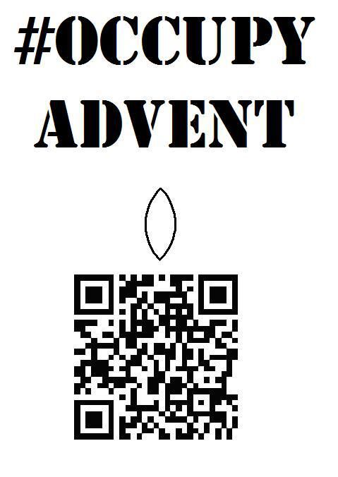 Occupy Advent QR code