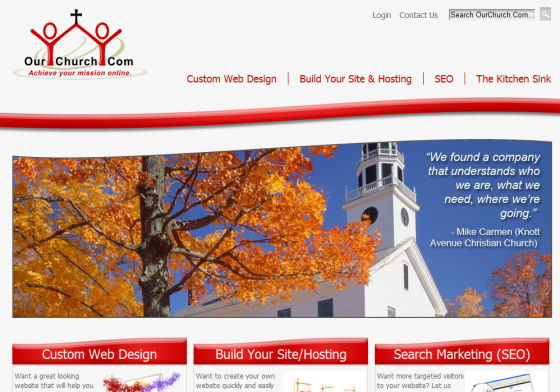 ourchurch.com homepage
