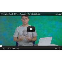 how to rank 1 on google matt cutts