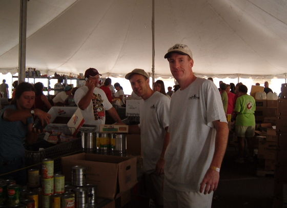 camp katrina, food pantry