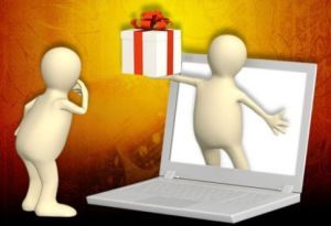 online communications gift giving
