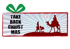 take back christmas for christ