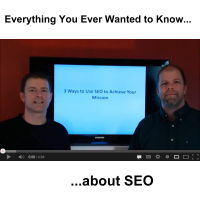 everything you ever wanted to know about SEO