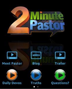 2 minute pastor app