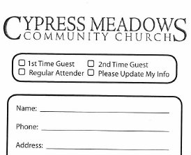 church communications cards best practices