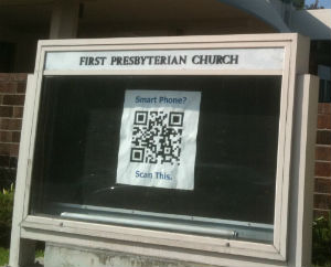 church qr code