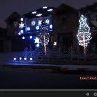 awesome christmas lights video