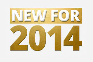 new for 2014