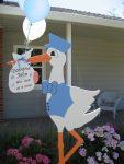 Stork has arrived at Gil Blas Rd.