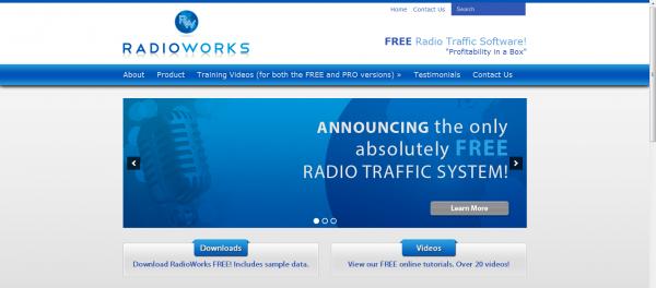 Radio Works Launches New Website! - Church Websites, Church Website ... RadioWorksScreenshot