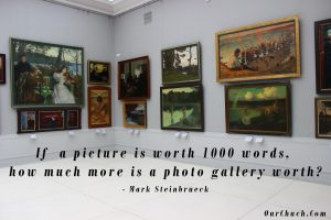 If a picture is worth 1,000 words, how much more is a photo gallery worth?