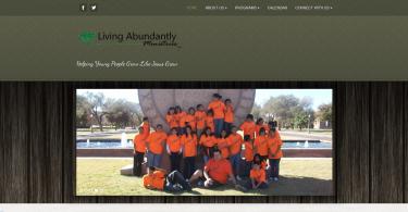 LivingAbundantlyScreenshot