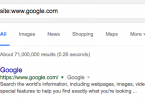 google-result-estimate