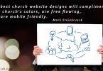 church website builder designs