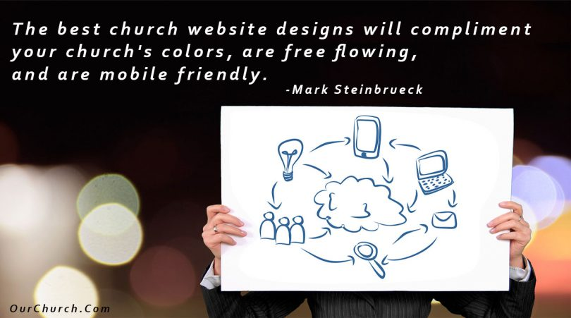 church website builder designs