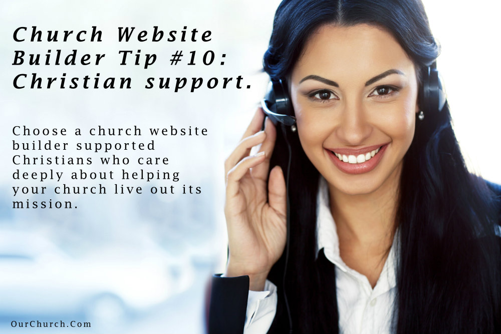 Church-Website-Builder-Tip-10-christian-support