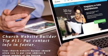 Church-Website-Builder-Tip-11-contact-info-footer