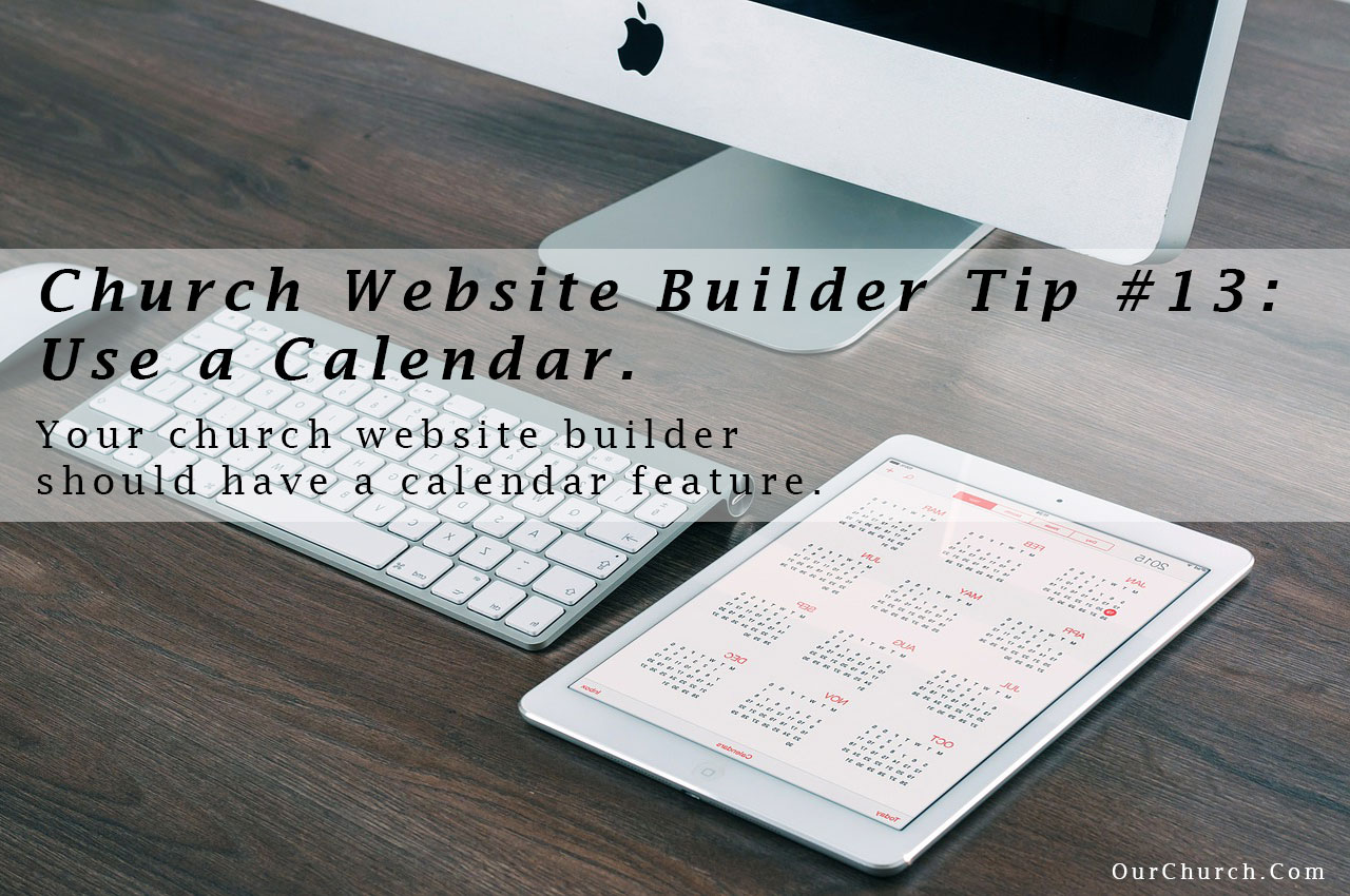 Church-Website-Builder-Tip-13-use-a-calendar